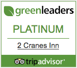 Green Leaders Platinum Certified with Trip Advisor