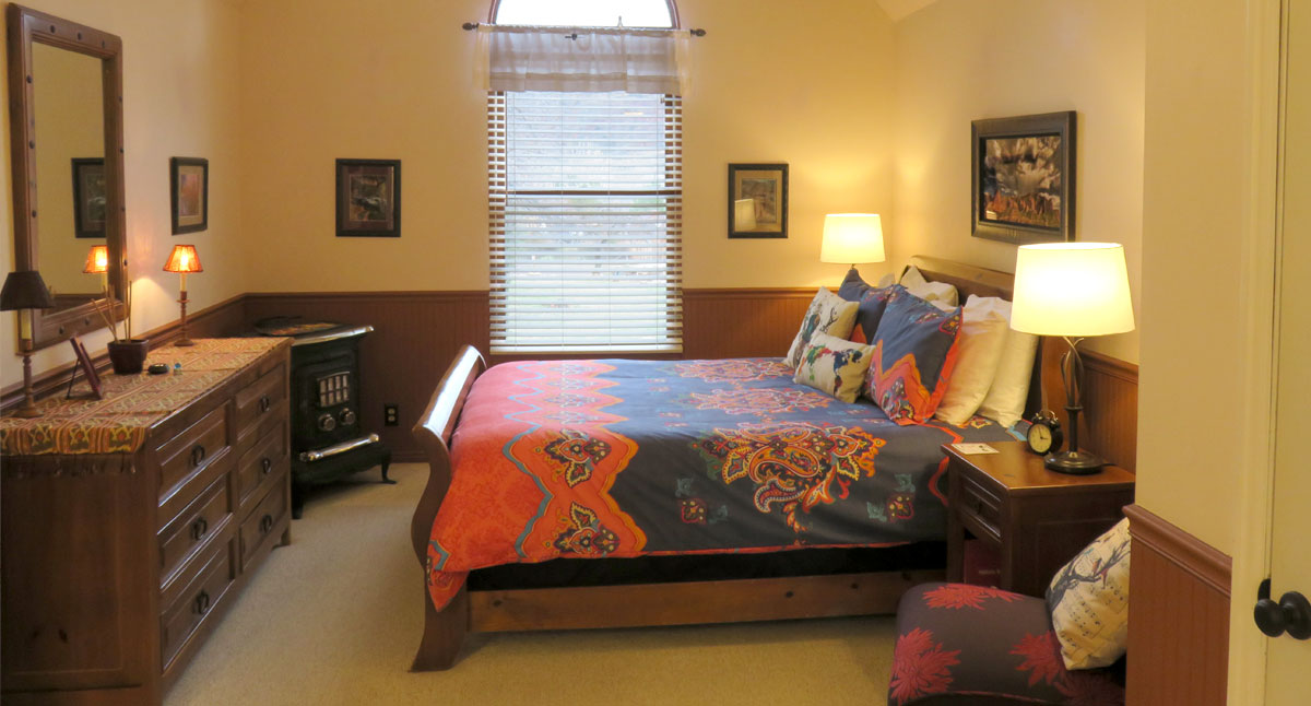 The Kolob Elk Bedroom